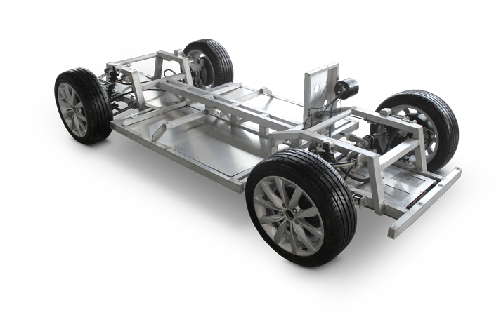 Luka EV In-wheel Chassis